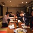 """岩国みなみクラブのメンバーとの懇親会が城見櫓でありました。総勢15名参加でした。 今井ワイズのおかげで個室で美味しい料理が沢山出てきました。 岩国みなみクラブから""""金雀""""という年間300本位?しか作られない日本酒がお土産 […]"""