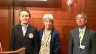 10 月は日本古来の和楽器に親しむとの事で「箏・尺八による和楽例会」を開催いたしました。卓話いただきましたのは、熊本箏演奏者協会会員の寺崎温子さん・都山流尺八楽会会員の林田沼山さんです。 例会開始前に会場に入るとさっそく […]