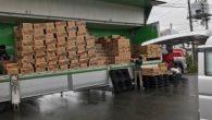 今回のジャガイモの荷卸しも、例年同様に熊本クラブの吉本ワイズの会社で10月21日9時より行われました。 今日みなみクラブがみなみセンターへ運ぶ量はジャガイモ(農林60箱+男爵70箱)、かぼちゃ(80箱)、三種盛り(30箱 […]