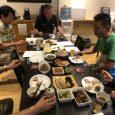 宮崎会長の会場にて、会長の豪華な手料理や、緒方ysの高級すしなどで、藤元直前会長の慰労会と橋本ワイズの慰労会が行われ、楽しい時間を過ごしました。